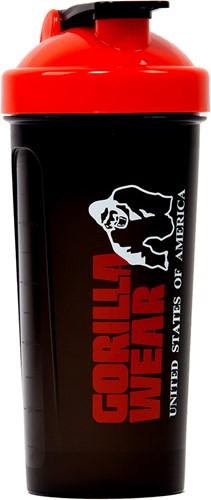 Gorilla Wear Shaker XXL - Zwart/Rood