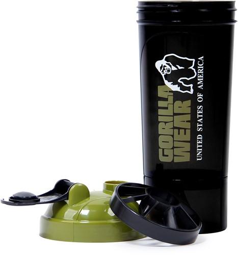 Gorilla Wear Compacte Shaker - Black/Army Green-3