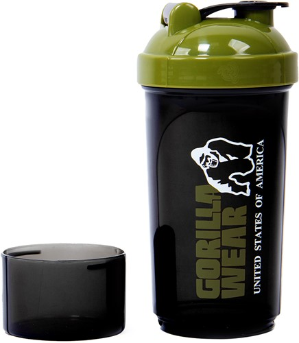 Gorilla Wear Compacte Shaker - Black/Army Green-2