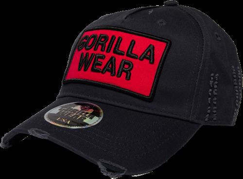 Gorilla Wear Harrison Pet - Zwart/Rood
