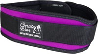 Gorilla Wear Womens Lifting Belt Black/ Purple-1