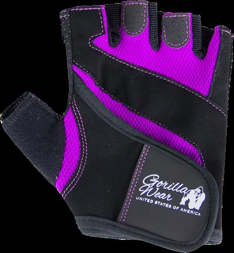 Gorilla Wear Womens Fitness Gloves Zwart/Paars