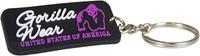 Gorilla Wear Rubber Women Logo Keychain-1