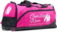 Gorilla Wear Santa Rosa Gym Bag - Pink/Black-1
