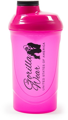 Gorilla Wear Wave Shake Beker - Pink - 600 ml