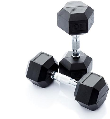 Muscle Power Hexa Dumbbell - 9 kg - Per Stuk
