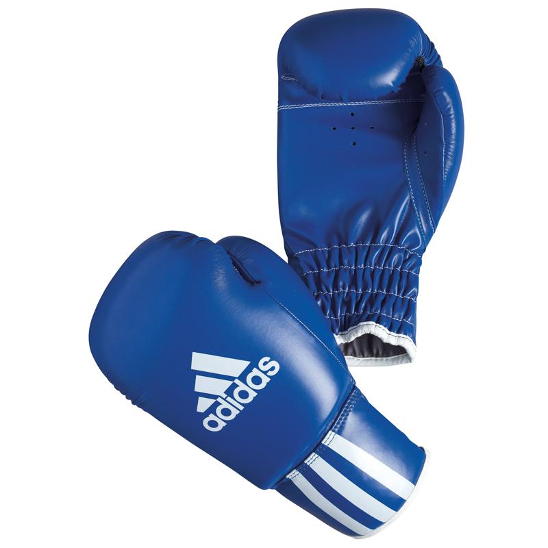 Adidas Rookie Bokshandschoenen Blauw 8 oz
