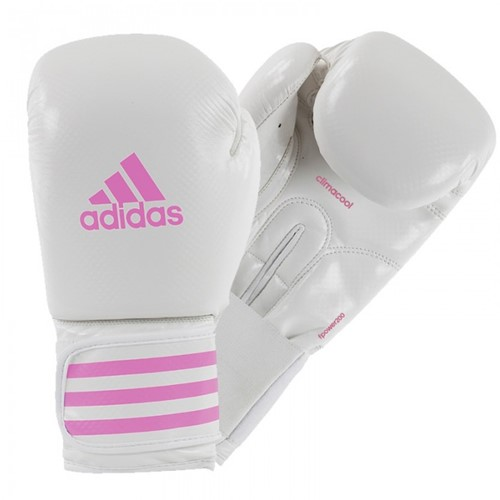 Adidas Female Power 200 (Kick)Bokshandschoenen Wit - Roze