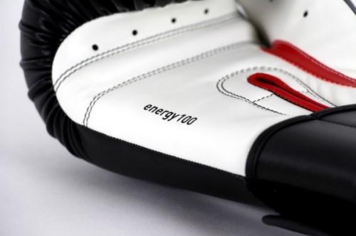 Adidas Energy 100 Bokshandschoenen Zwart-Wit-2