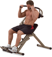 Body-Solid (Best Fitness) Ab Mantis Bench-1