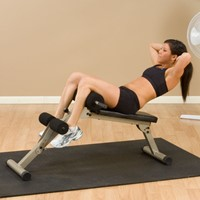 Body-Solid (Best Fitness) Ab Board Hyperextension-3