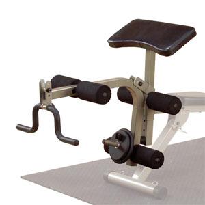 Body-Solid (Best Fitness) Leg Developer & Preacher Curl Attachment