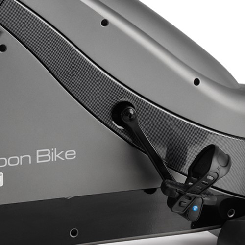 BH fitness i.carbon bike hometrainer detail