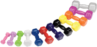 Body-Solid Vinyl Dumbbells-1