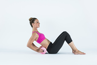 Blackroll med foam roller roze model 2