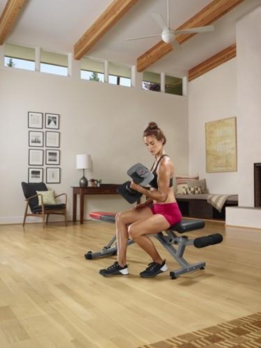 Bowflex SelectTech 560 Smart Dumbbell Set omgeving 3