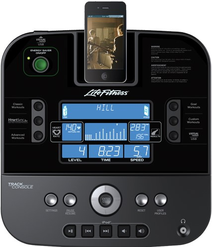 Life Fitness C1 Track Hometrainer - Showroom model-2