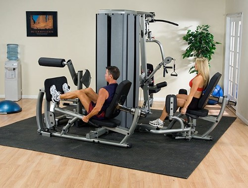 Body-Solid DGym Pro Dual 4-Stack Gym Frame-2