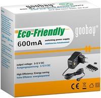Goobay EcoFriendly Universele Adapter 600mA