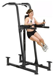 Body-Solid Fusion Powertower - Vertical Knee Raise, Dip, Pull Up-2