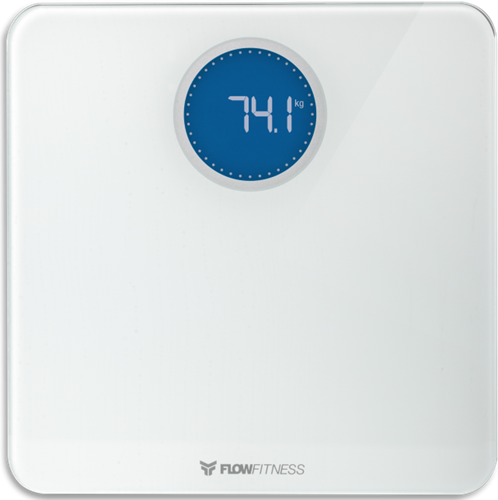 Flow Fitness Bluetooth smart scale weegschaal 8