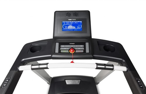 Flow Fitness DTM2000i loopband display