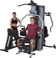 Body-Solid G9S 2 Stack Selectorized Home Gym-1