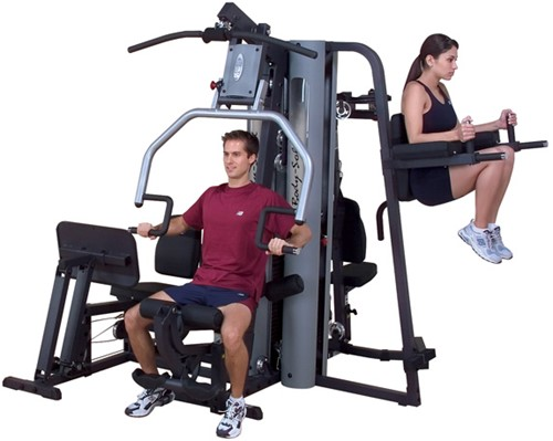 Body-Solid G9S 2 Stack Selectorized Home Gym-3