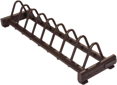 Body-Solid Rubber Bumper Plate Rack