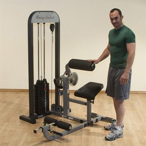 Body-Solid Ab & Back Machine-2