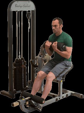 Body-Solid Ab & Back Machine