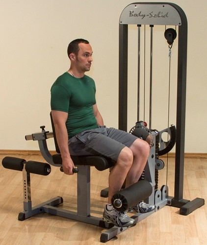 Body-Solid Leg Extension & Leg Curl Machine-2