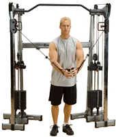 Body-Solid GDCC200 Functional Training Center - Cable Crossover-3