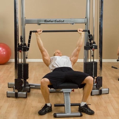 Body-Solid Functional Training Center Bar Accessoire-3