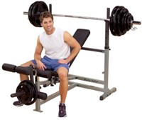 Body-Solid PowerCenter Combo Bench-1
