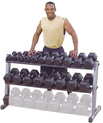 Body-Solid Pro Dumbbell Rack-2