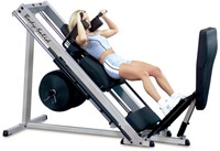 Body-Solid Pro Club Line Professionele Leg Press 45°-3