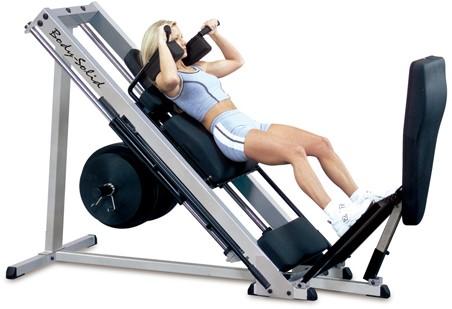 Body-Solid Pro Club Line Professionele Leg Press 45°-3