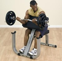 Body-Solid Preacher Curl Bench-2