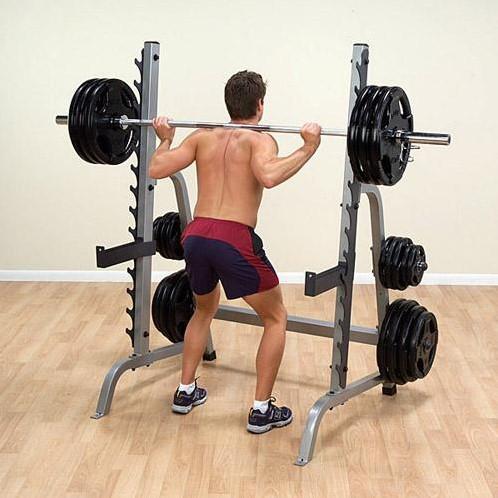 Body-Solid Multi Press Squat Rack-3