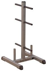 Body-Solid Standard Plate Tree & Bar Holder