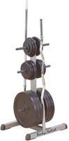 Body-Solid Standard Plate Tree & Bar Holder-2