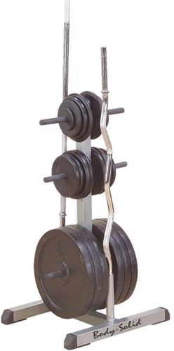Body-Solid Standard Plate Tree & Bar Holder - 30 mm-2