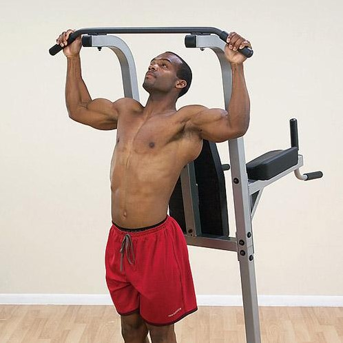 Body-Solid Vertical Knee Raise, Dip, Pull up-2