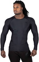 Gorilla Wear Hayden Compression longsleeve black - front