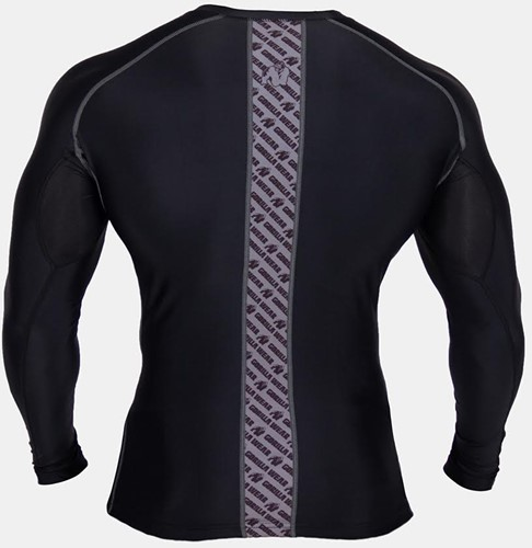 Gorilla Wear Hayden Compression longsleeve gray - back