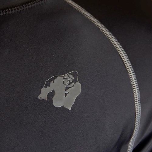 Gorilla Wear Hayden Compression longsleeve gray - detail 2