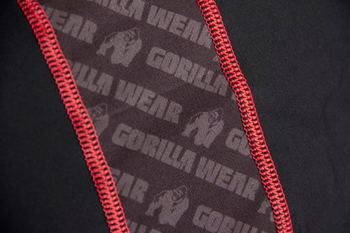 Gorilla Wear Hayden Compression longsleeve red - detail