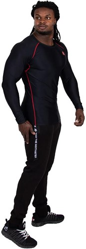 Gorilla Wear Hayden Compression longsleeve red - front 3