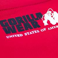 Gorilla Wear Performance T-Shirt - Rood